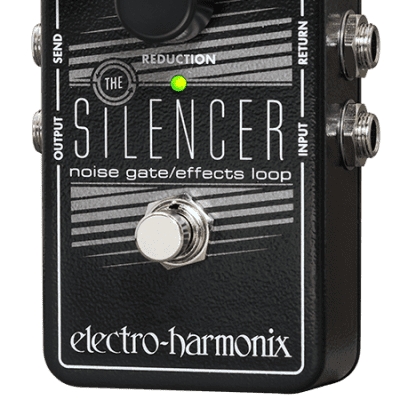 New Electro-Harmonix EHX Silencer Noise Gate / Effects Loop Guitar Pedal! image