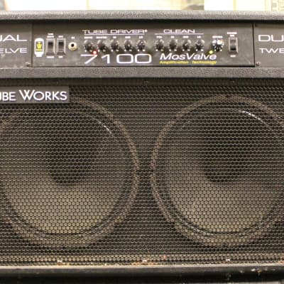 Tube Works Dual Twelve 7100 Mos Valve Combo Amp – Good Condition for sale