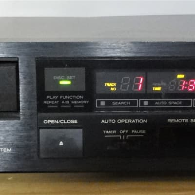 Teac PD-500 1 Disc CD player - Burr Brown DAC Chip - Solid Build in Japan / Rare ( old school TEAC)