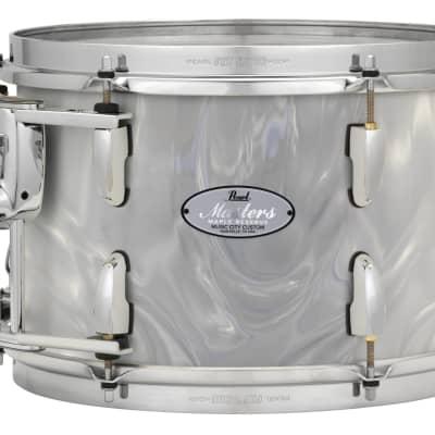 "Pearl Music City Custom 15""x14"" Masters Maple Reserve Series Tom Drum  w/optimount MRV1514T - White Satin Moire"