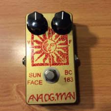 Analogman sun face bc183 gold
