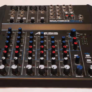 Alesis MultiMix 8 USB 2.0 FX 8-Channel Mixer with Effects