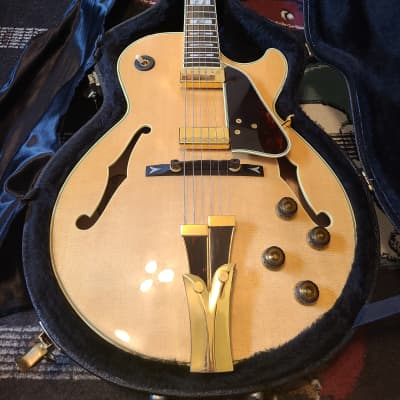 Ibanez GB10-NT George Benson Signature Hollowbody 2010s Natural for sale