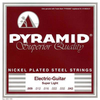 Pyramid Electric Nickel Plated Steel Strings 09-42