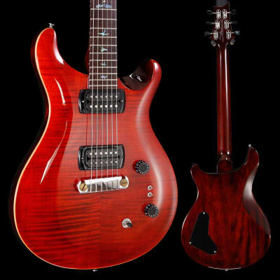 PRS Paul Reed Smith SE Paul's Guitar w/ Bag, Fire Red 498 6lbs 12.5oz for sale