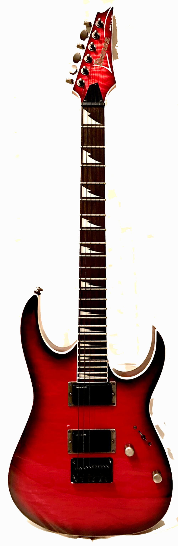 Ibanez RG Series RG3EX1 Trans Red Sunburst Elect Guitar with | Reverb