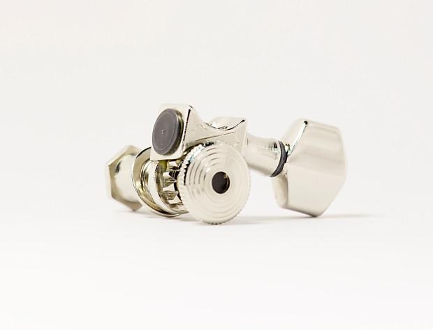 Genuine Sperzel Trimlok 7-string Nickel tuners NEW Auth Dealer full warranty