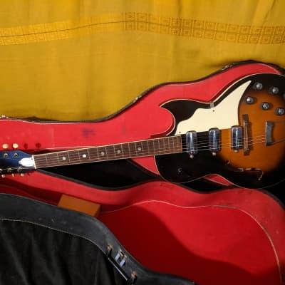 Truetone Speed Demon Guitar Vintage USA Good Shape with Case 1960's for sale