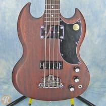 Gibson SG Bass 120th Anniversary 2014 Worn Brown image