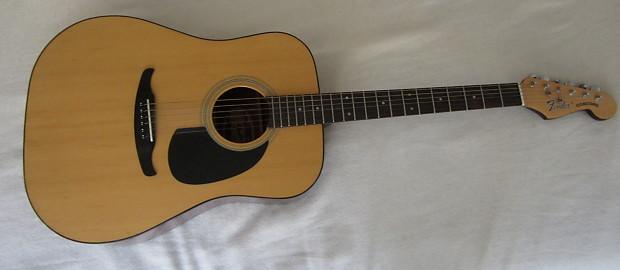 Vintage Fender Acoustic W Headstock