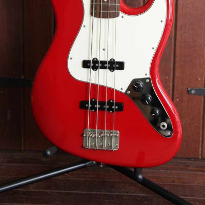 Edwards Jazz Bass in Fiesta Red Made in Japan Pre-Owned for sale