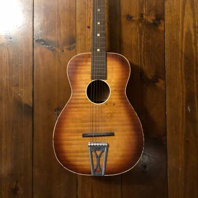 Regal Acoustic Parlour Guitar Vintage 1950's for sale