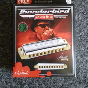 Hohner M2011BXL-F Marine Band Thunderbird Harmonica - Key of Low F