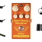Mad Professor Sweet Honey Overdrive Deluxe PRYMAXE PEDAL BUNDLE image