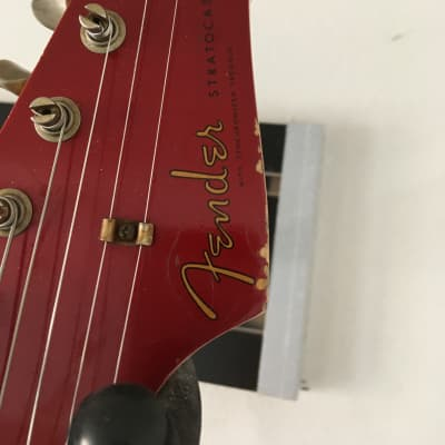 2007 Fender '60  Relic Stratocaster Custom Shop  Candy Apple Red Matching Headstock for sale