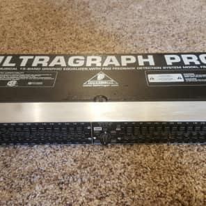 Behringer Ultragraph Pro FBQ1502HD 15-Band Graphic Equalizer