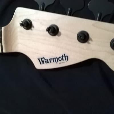 Warmoth Fretless P Bass Neck 2021  - Brand New - - Hipshot tuners/Nitro finish - Fast shipping