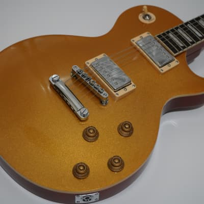 Austin Super 6 Gold Top Electric Guitar - AS6PROGTX