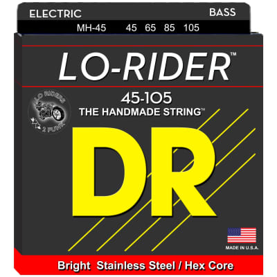 DR Strings MH-45 45-105  Lo-Rider Bass Strings