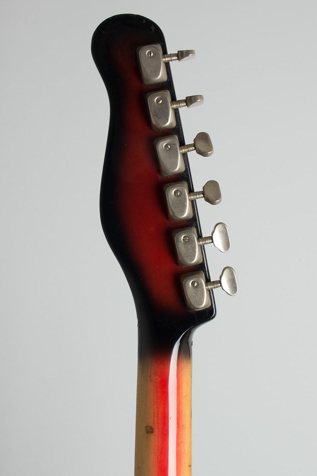 Baldwin - Burns  Jazz Split Sound Solid Body Electric Guitar (1965), ser. #13563, black gig bag case.