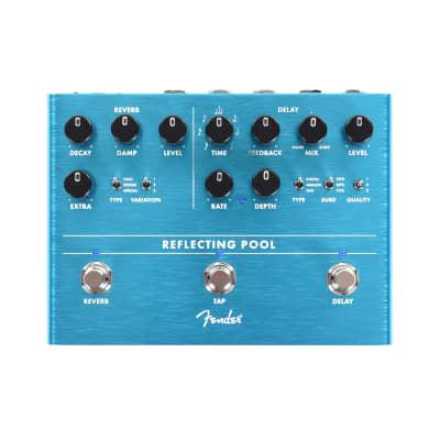 Fender Reflecting Pool Delay/Reverb Pedal B-Stock
