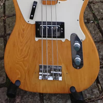 MAYA TL-14 Telecaster Bass Copy -  1970's Natural for sale