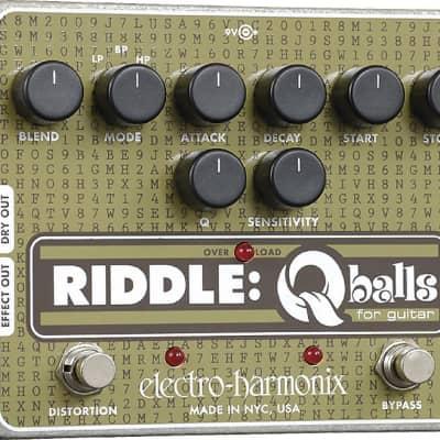 Electro-Harmonix Riddle Q Balls Envelope Filter for guitar