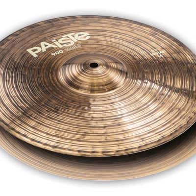 Paiste Cymbals 14 inch 900 Series Hi-Hat Cymbal Set - 697643114258