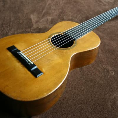 Lyon & Healy Parlor guitar Late 1800's   Natural for sale