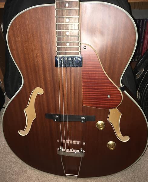 Harley Benton Manhattan Standard Hollow Body Electric Guitar