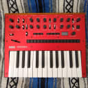 Korg Monologue Monophonic Analog Synthesizer 2010s Red w/ box, paperwork & batteries