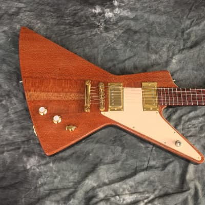 JULY 4th SALE! Sidewinder/Futura Explorer style Guitar Handcrafted by Black Diamond for sale