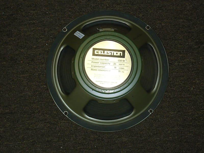 celestion g12m greenback 12 guitar speaker 414 reverb. Black Bedroom Furniture Sets. Home Design Ideas