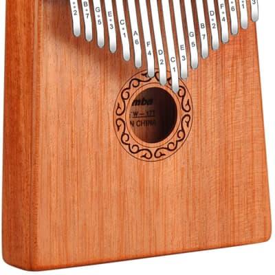17 Key Kalimba (Thumb Piano) Mbira Wood Finger Piano