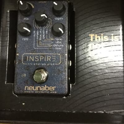 Neunaber Audio Effects Inspire Tri-Chorus Plus Pedal