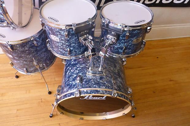 pearl export exr limited edition drum set blue prism reverb. Black Bedroom Furniture Sets. Home Design Ideas