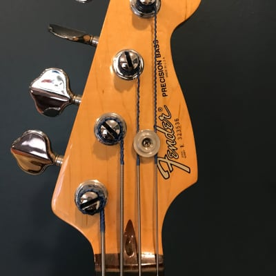 Fantastically Loved & Cared for Fender Elite Precision Bass II 1983 - 1985 Arctic White for Sale for sale