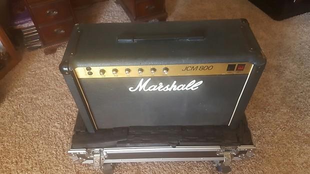 vintage marshall jcm 800 1983 combo guitar amp 4104 reverb. Black Bedroom Furniture Sets. Home Design Ideas