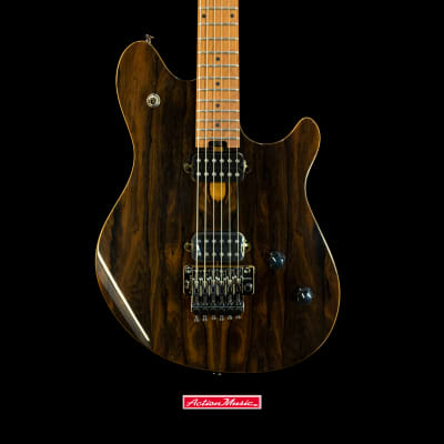 EVH Wolfgang Standard Exotic Ziricote with Baked Maple Fretboard 2019 Natural/Cherry for sale