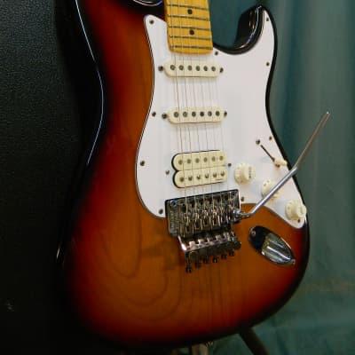 Fender Floyd Rose Classic Stratocaster 1992 Sunburst for sale