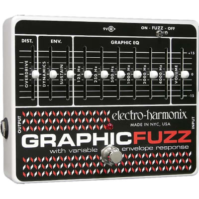 Electro-Harmonix Graphic Fuzz EQ Distortion Sustainer Pedal for sale