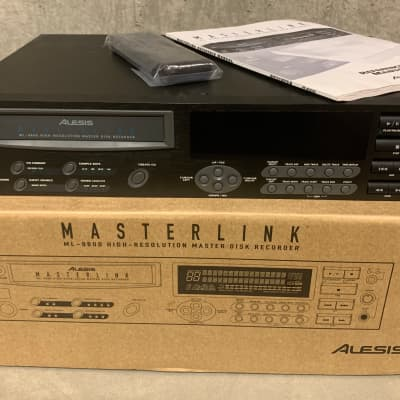 Alesis Masterlink ML-9600 High Resolution Master Disk Recorder