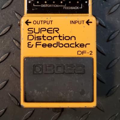 Boss DF-2 Super Distortion Feedbacker MIJ Japan Lawsuit DiMarzio ACA - convert to PSA Mod Available