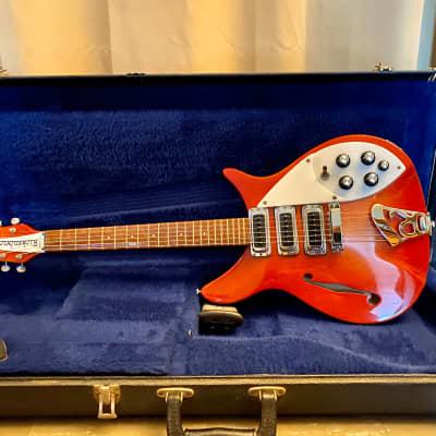 Rickenbacker  Rose Morris  1979 Sunburst Red for sale