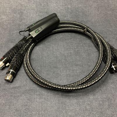 AudioQuest AudioQuest Niagara Audio Cable 1m XLR  Pair / Factory Terminations  Black