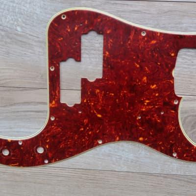 Fender Precision Bass Pickguard    Celluloid 1960 1966 Tortoise Nitrate 60's Vintage USA