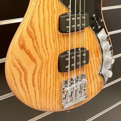 Fender Fender American Deluxe Dimension Bass IV HH, Natural Highgloss for sale