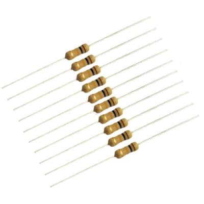 1/2 Watt Carbon Film Resistors, 10K Ohm, Pkg. of 10