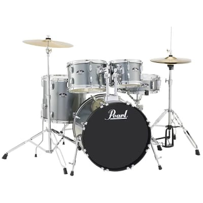 """Pearl RS505C Roadshow 10 / 12 / 14 / 20 / 14x5"""" 5pc Drum Set with Hardware, Cymbals"""