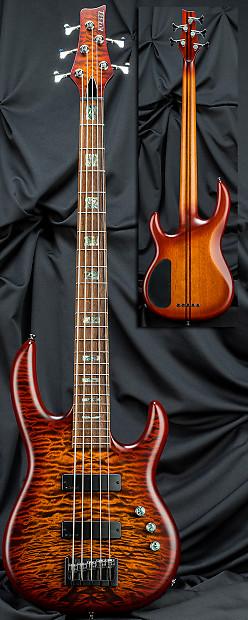 kiesel carvin lb75 5 string active passive electric bass reverb. Black Bedroom Furniture Sets. Home Design Ideas